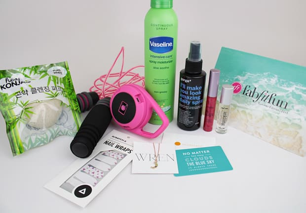 fab fit fun box review summer