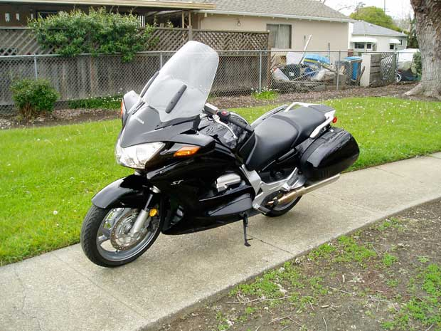 2012 honda st1300 abs review