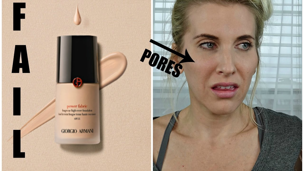 armani power fabric foundation review