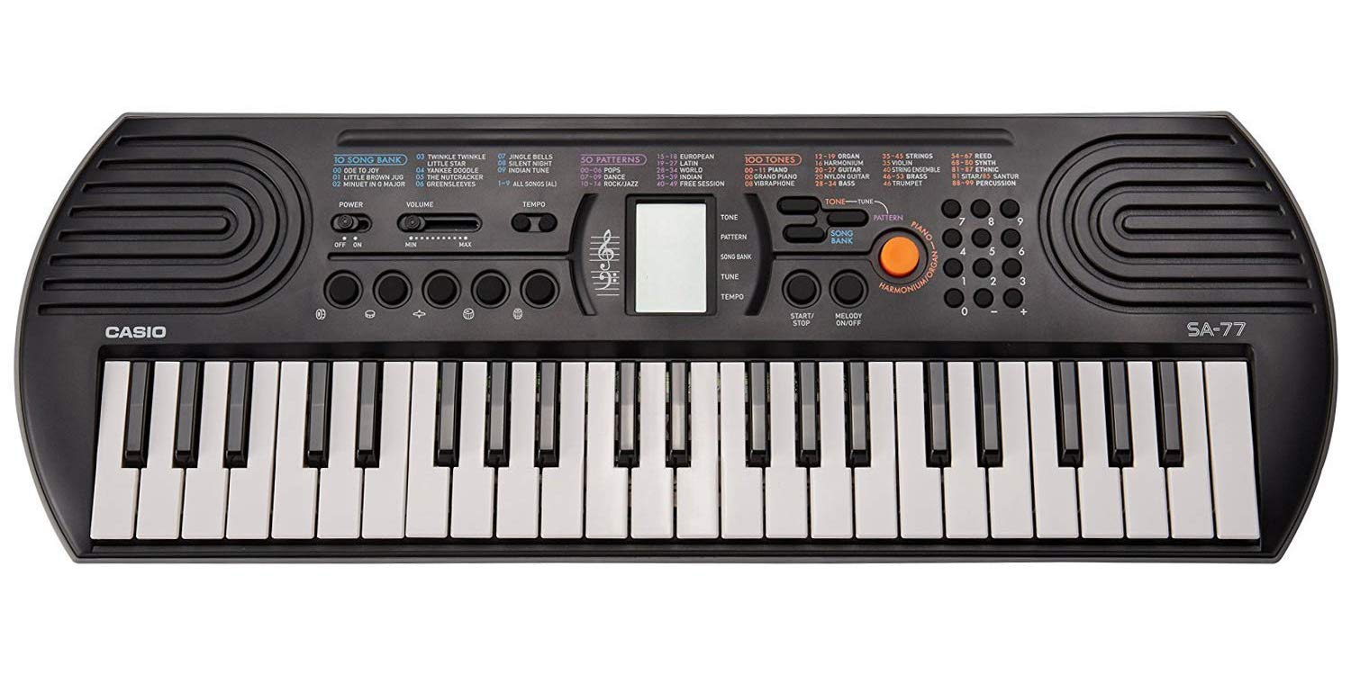 casio sa 76 keyboard review