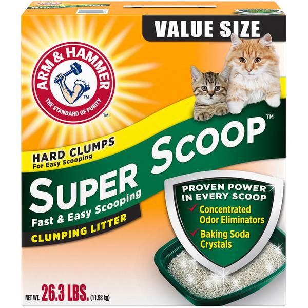 arm and hammer super scoop cat litter reviews