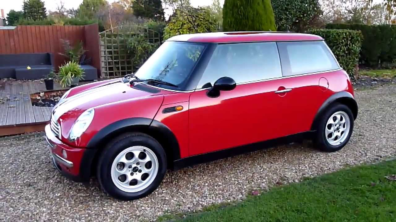2003 mini one 1.6 review