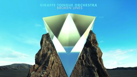 giraffe tongue orchestra broken lines review