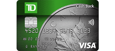 td cash back infinite visa review
