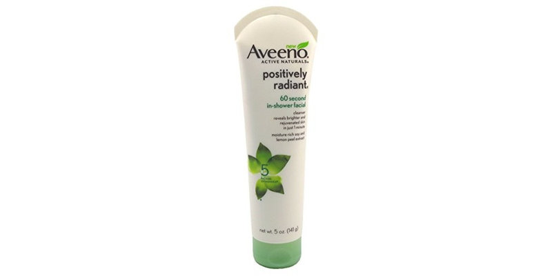 aveeno in shower facial review