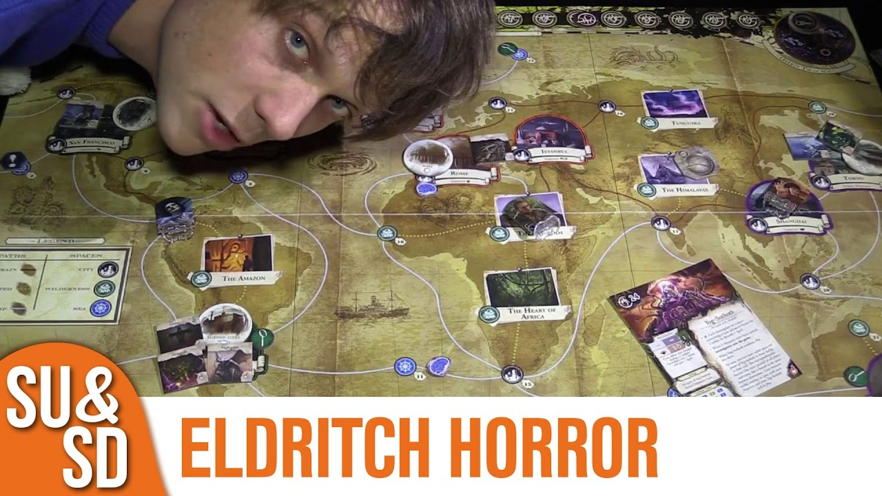 eldritch horror the dreamlands review