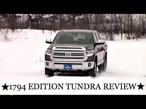 2014 toyota tundra 1794 review