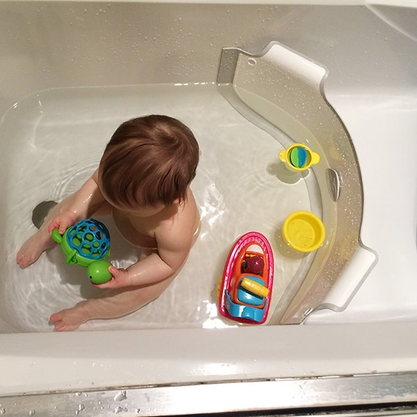 baby dam bath divider review