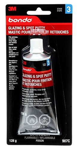 bondo glazing and spot putty review