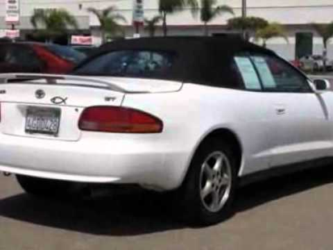 1999 toyota celica gt convertible review