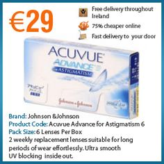 acuvue advance for astigmatism review