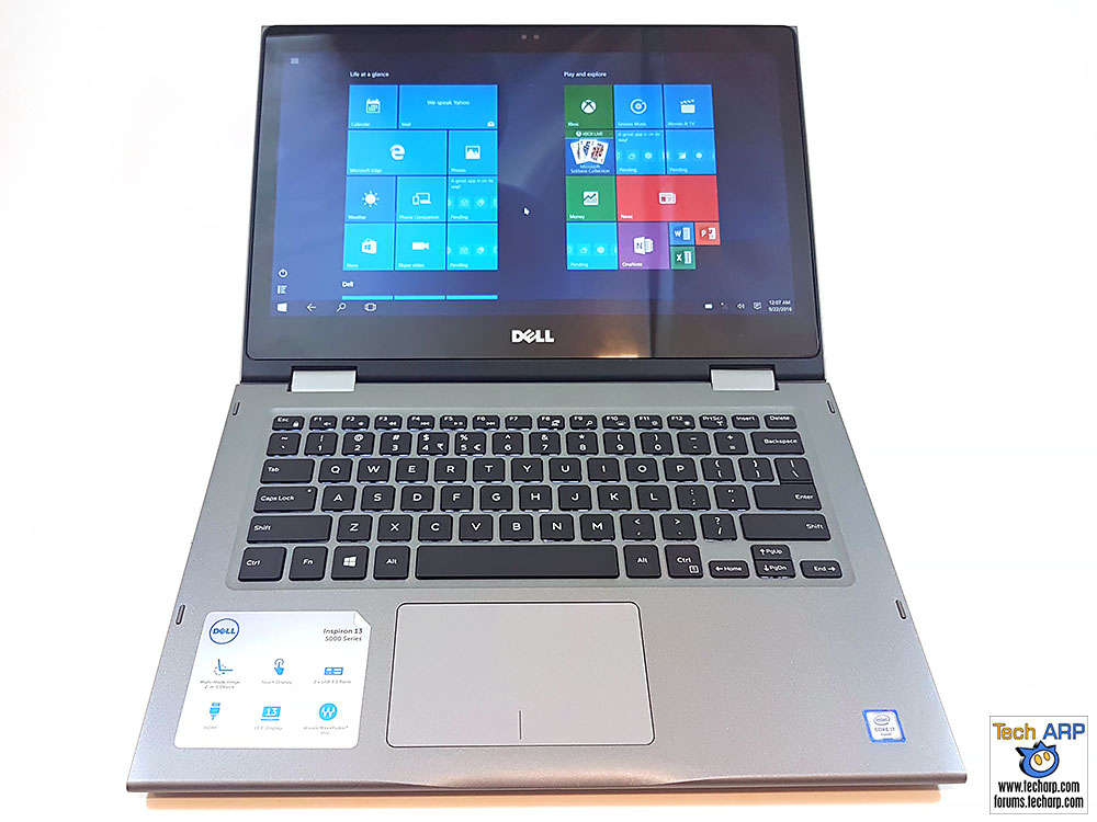 dell inspiron 13 5000 2 in 1 laptop review