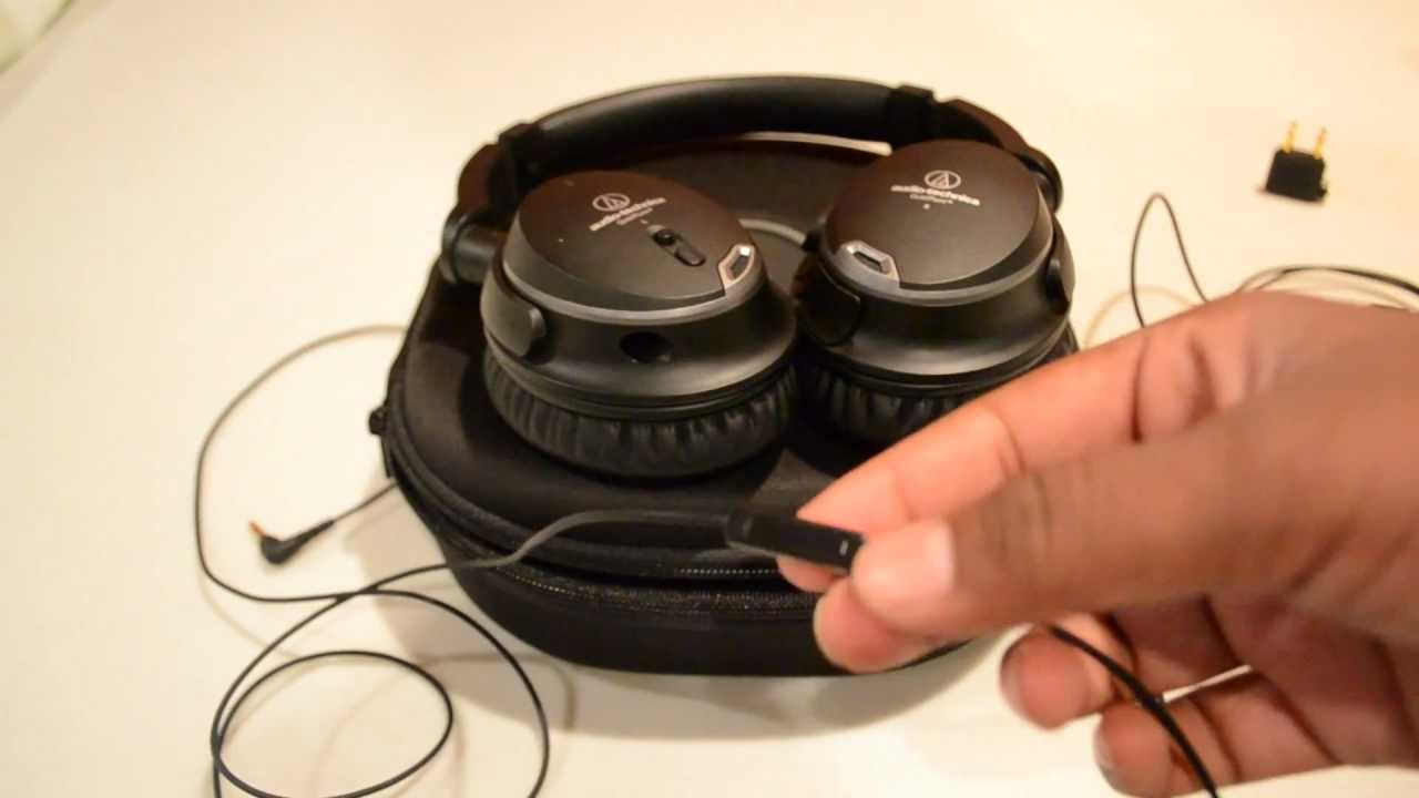 audio technica ath anc9 quietpoint noise cancelling headphones review