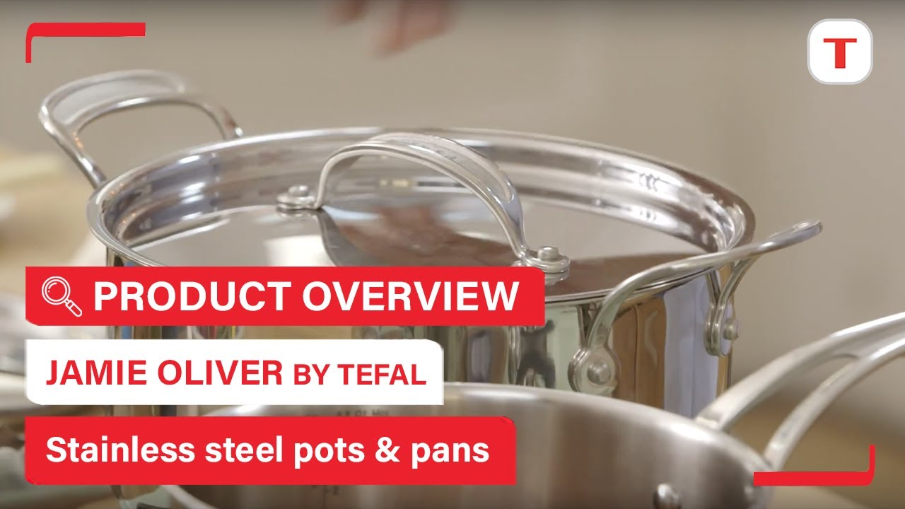 tefal jamie oliver stainless steel review