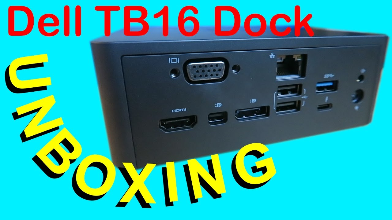 dell thunderbolt dock tb16 240w review