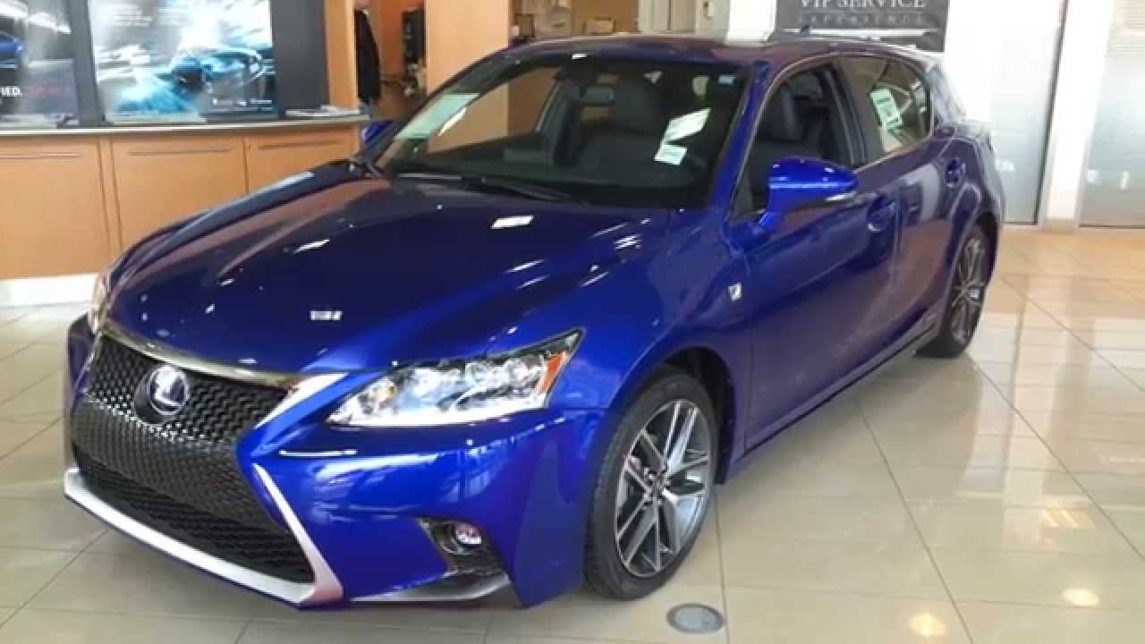 2014 lexus ct200h f sport review