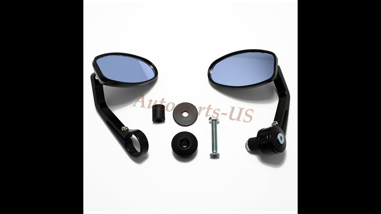 motorcycle bar end mirrors review