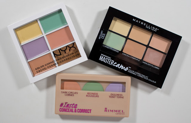 nyx colour correcting palette review