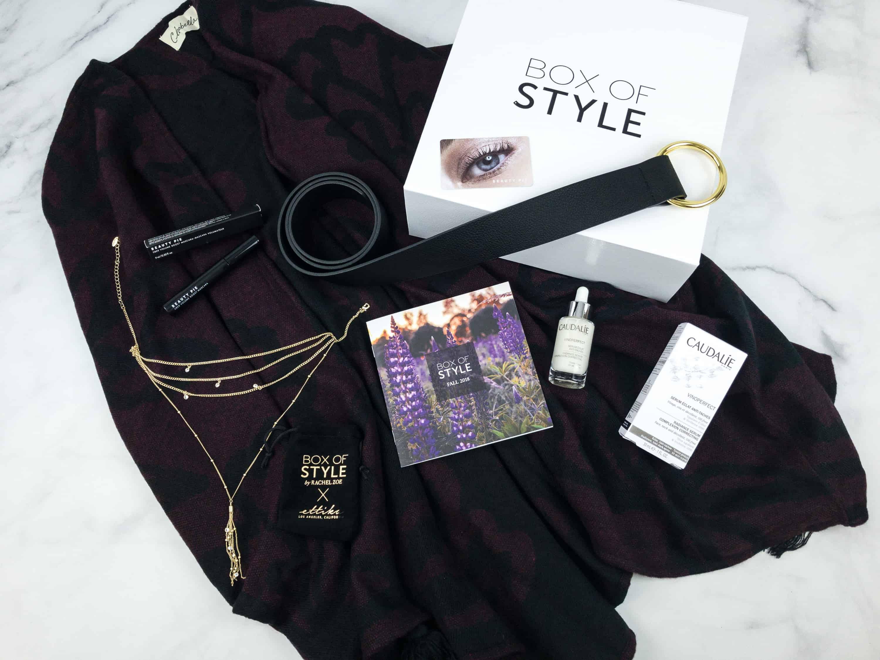 box of style fall 2017 review
