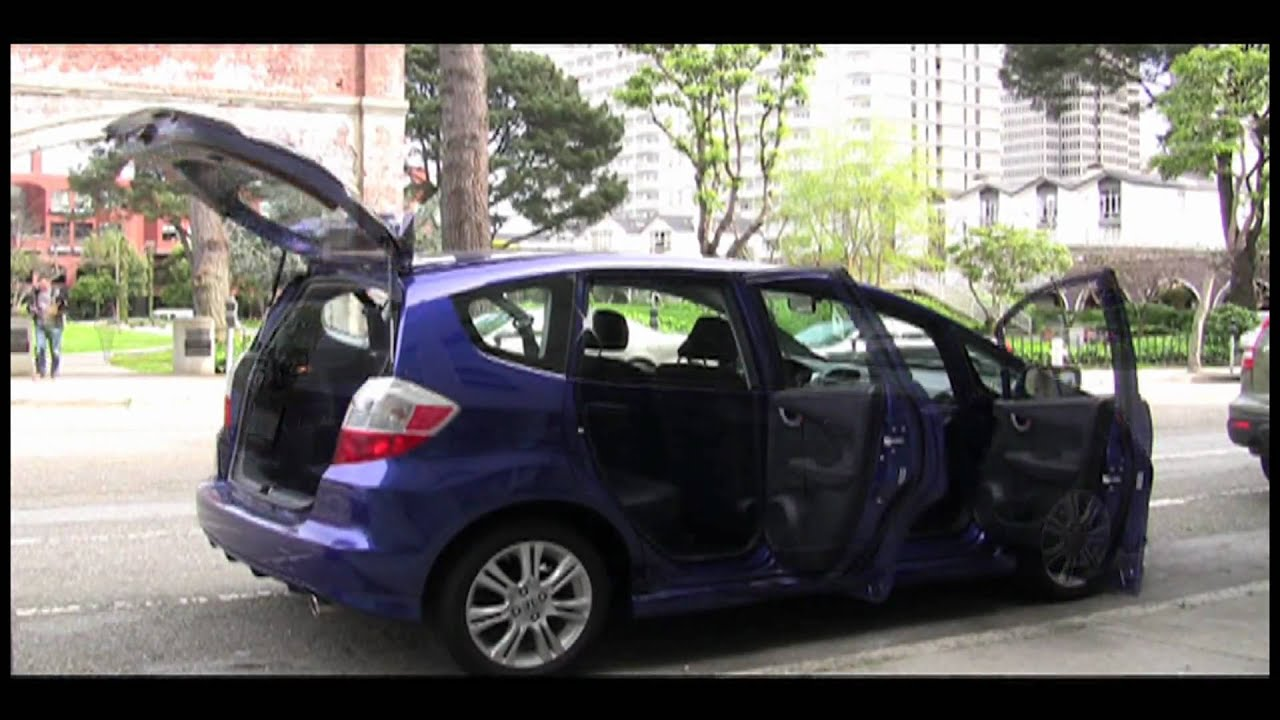 2010 honda fit sport review