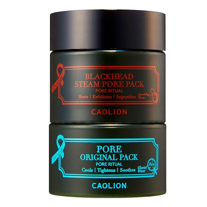 caolion premium hot & cool pore pack duo review