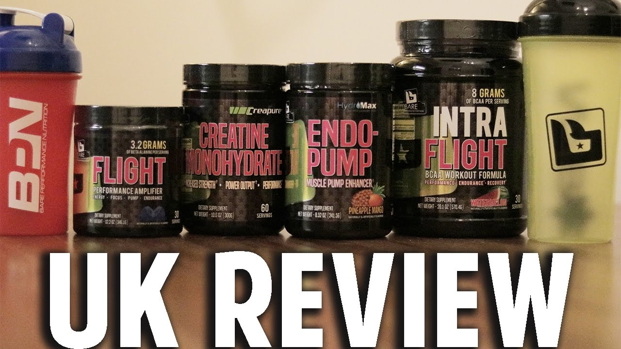 bare performance nutrition flight review
