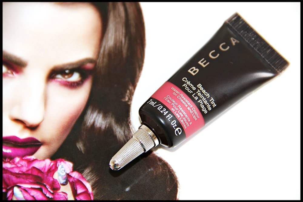 becca beach tint watermelon review