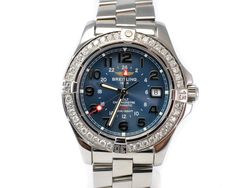 breitling colt gmt a32350 review