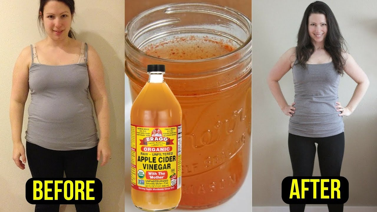 apple cider vinegar before bed weight loss reviews