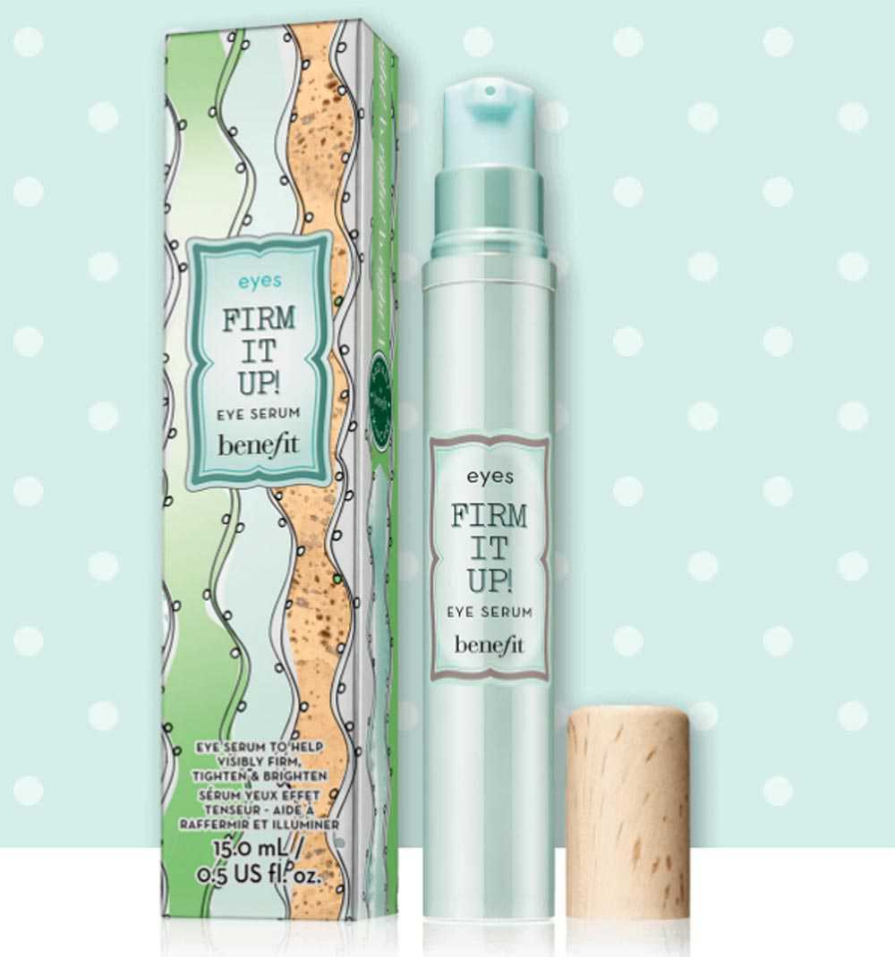 benefit firm it up eye serum review