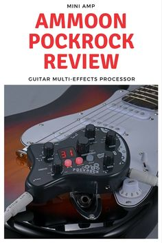 ammoon pockrock portable guitar multi effects review