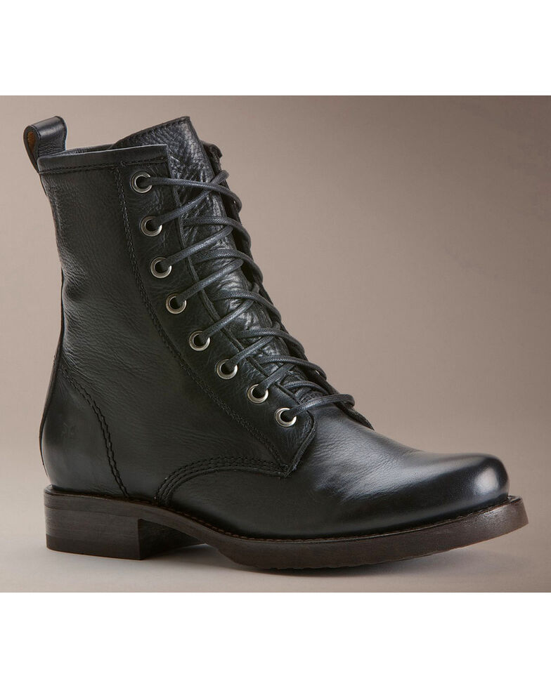 frye veronica combat boot review