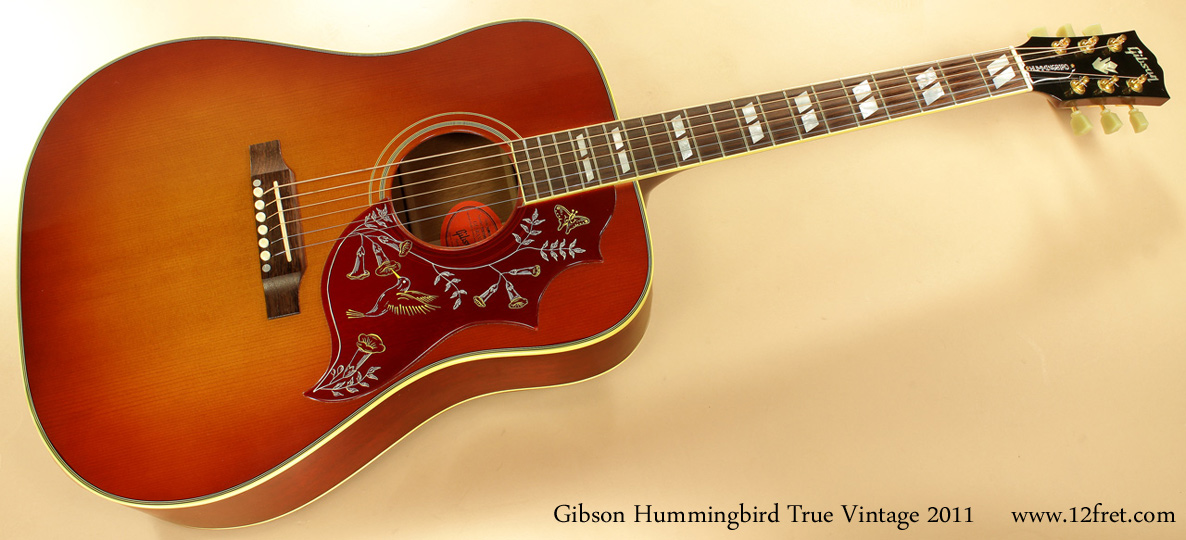 gibson hummingbird true vintage review