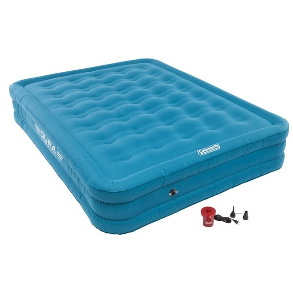 coleman double high airbed reviews