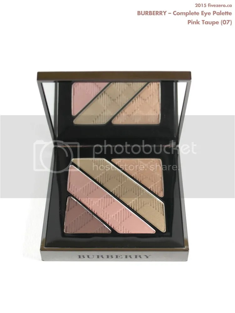 burberry pink taupe palette review