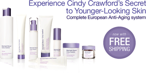 cindy crawford meaningful beauty reviews