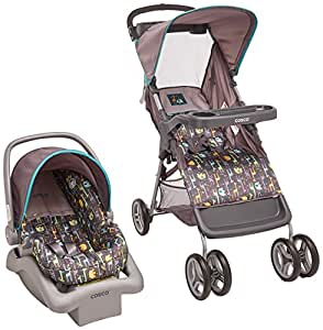 cosco juvenile lift & stroll baby travel system reviews