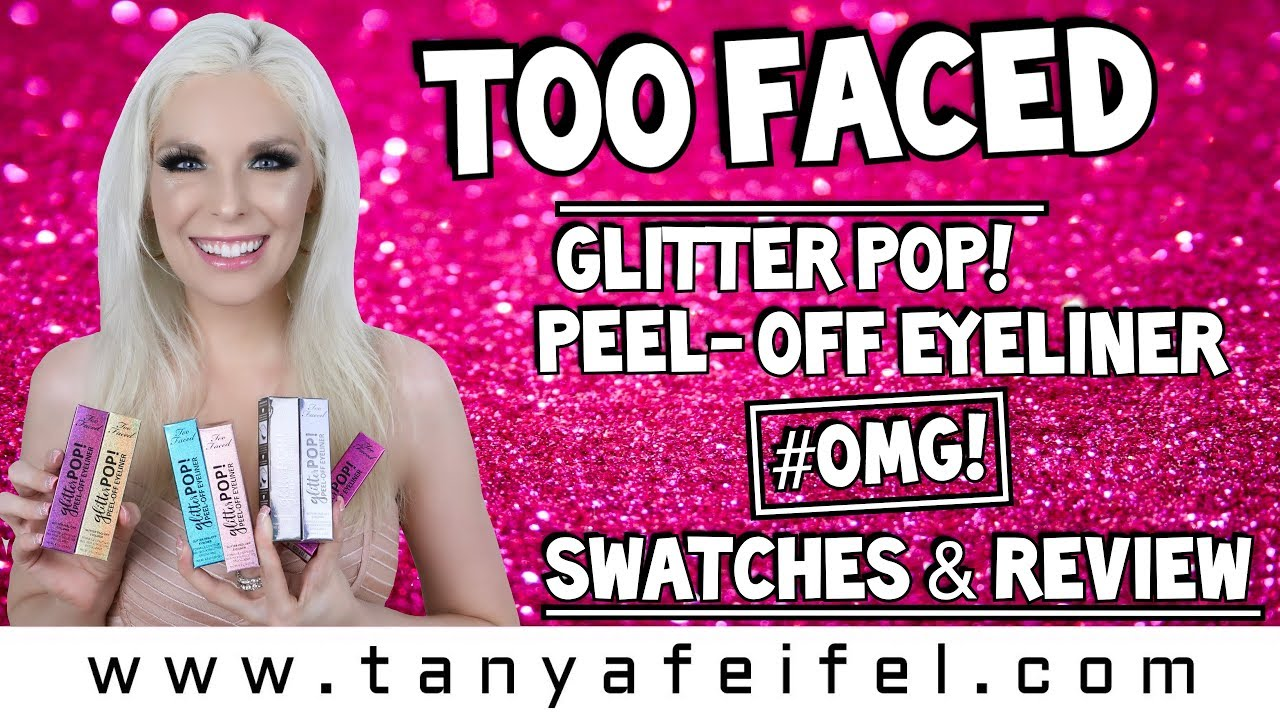 too faced peel off eyeliner review