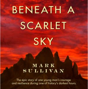 beneath the scarlet sky review