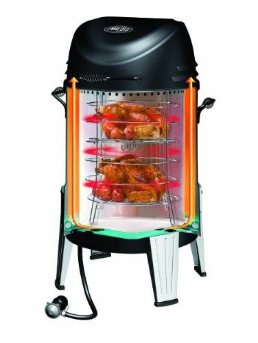 char broil tru infrared smoker review