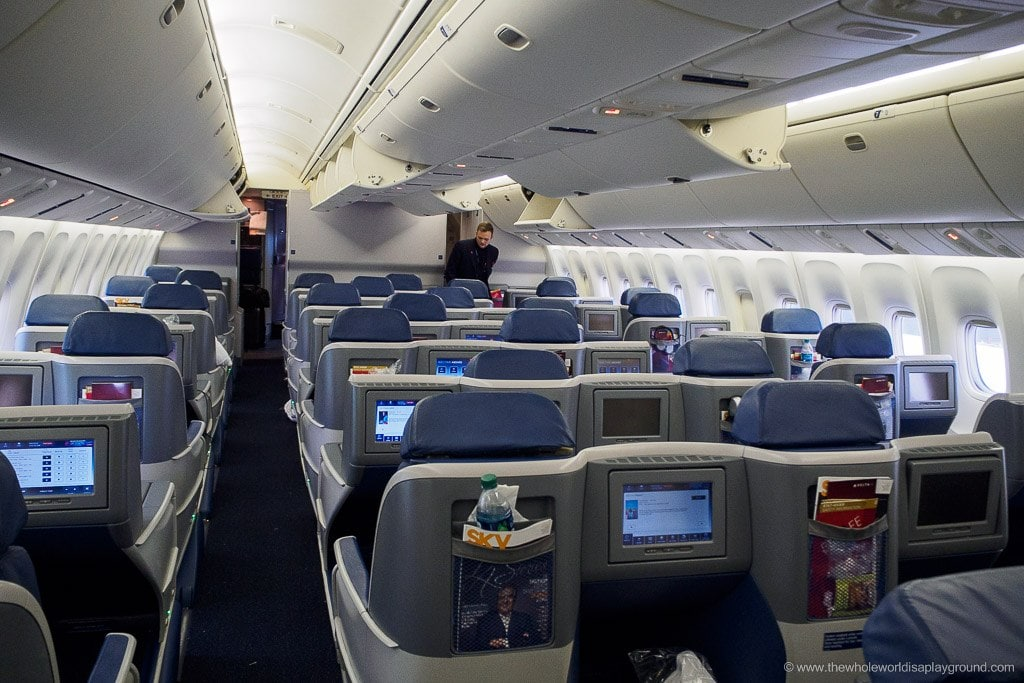 delta airlines international business class review