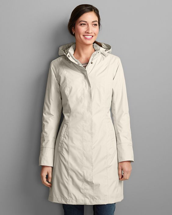 eddie bauer girl on the go trench review