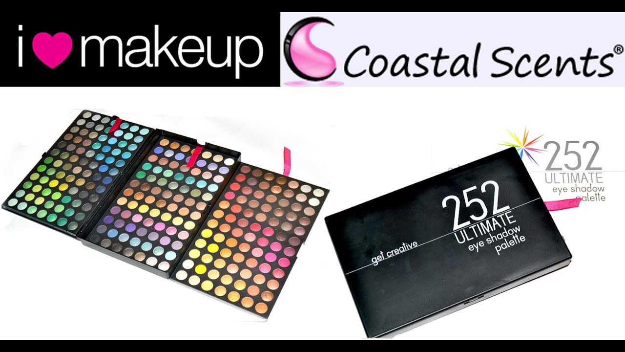 coastal scents 66 lip palette review