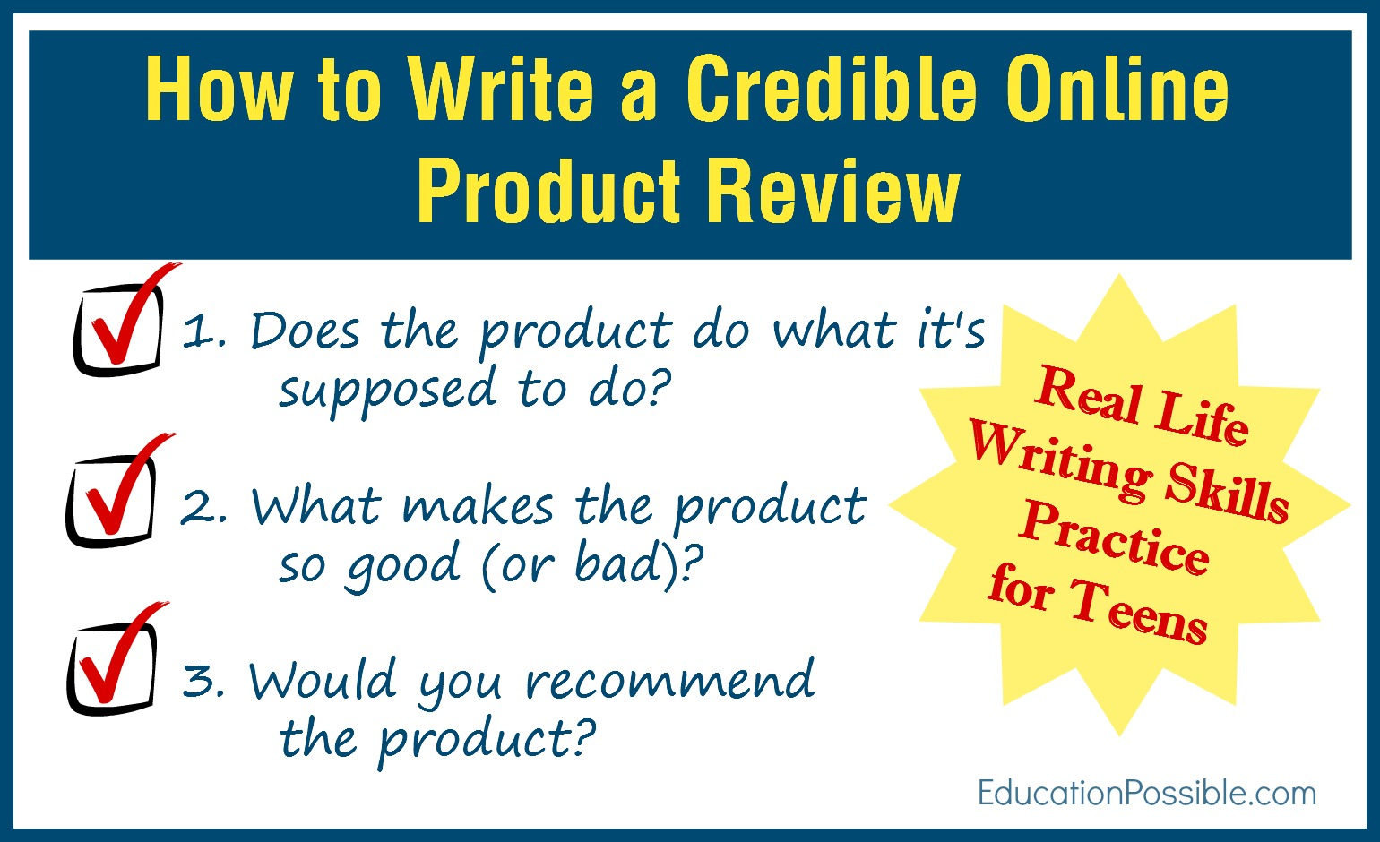 example of product review essay