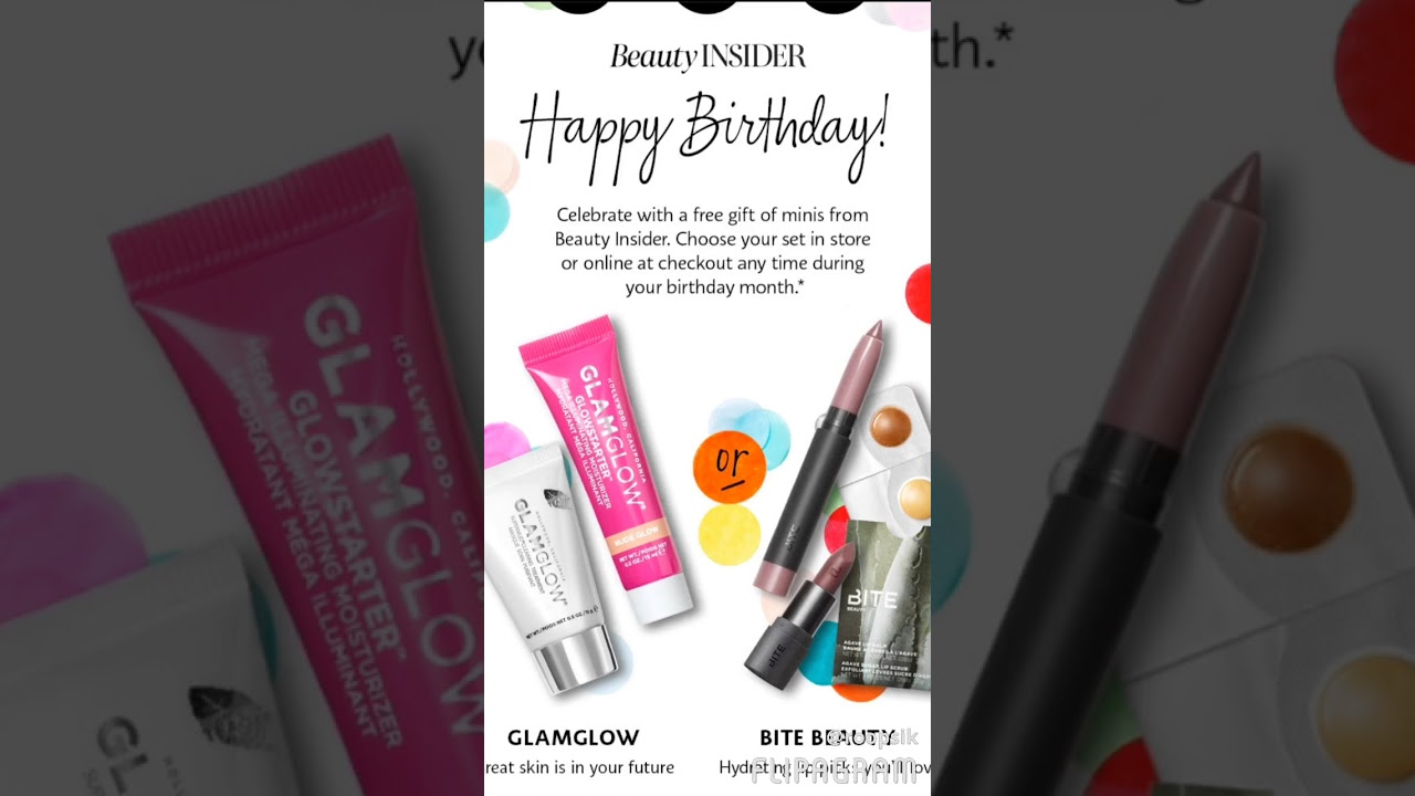 2018 sephora birthday gift review