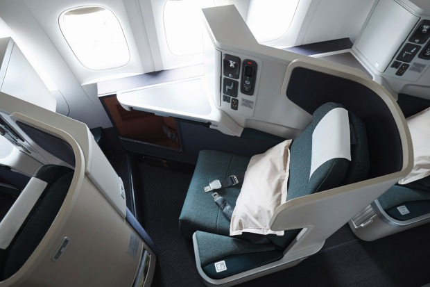 cathay pacific a330 300 business class review