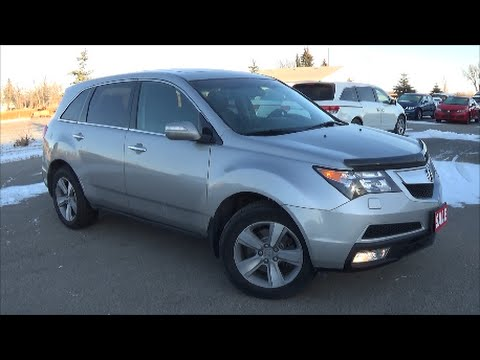 2011 acura mdx technology package review