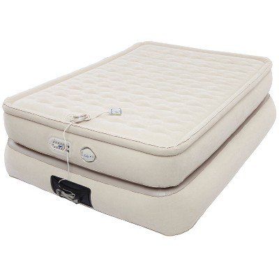 coleman air mattress with built in pump reviews