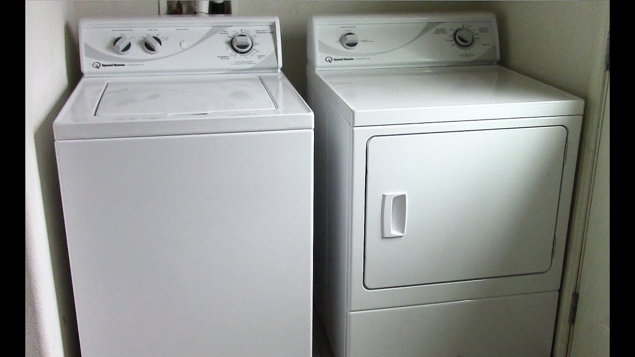 ge washer and dryer reviews 2017