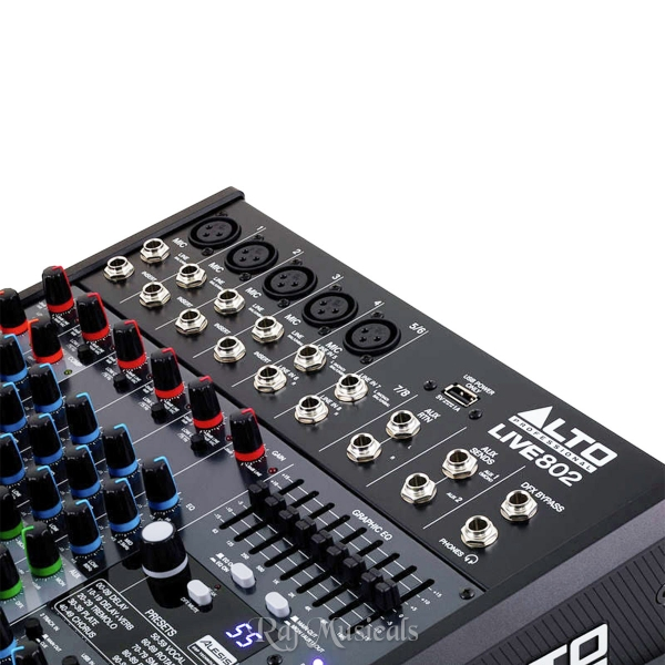 alto live 802 mixer review